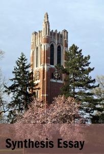 Beaumont Tower in spring